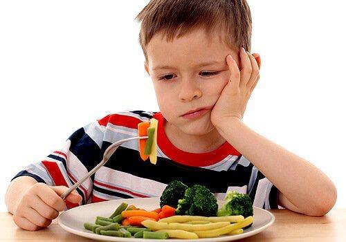 ילדים וסרבנות לירקות, פירות