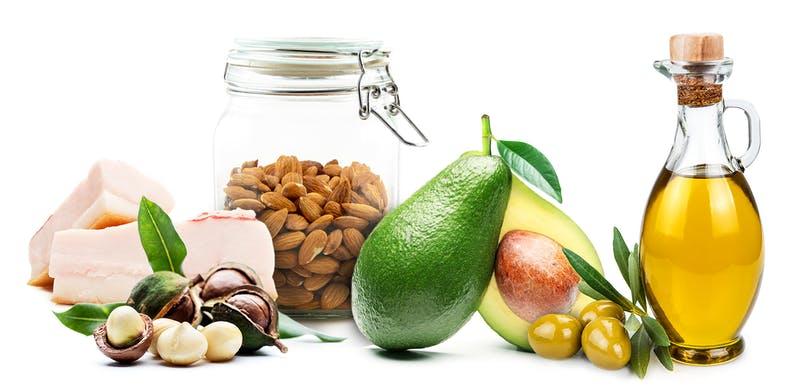 שמנים, שומנים, תזונה בריאה